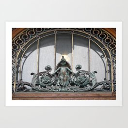 Transom Statue Art Print