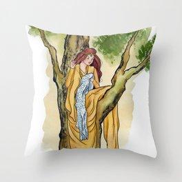Silent Stitching Throw Pillow