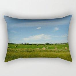 Summertime in WaterValley Rectangular Pillow