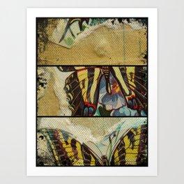 Buttefly Fun Art Print