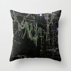 Nature's Chandelier Throw Pillow