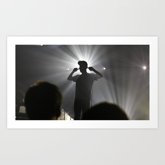 Concert in Moscow Art Print