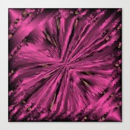 artful purple  little abstract pattern Canvas Print