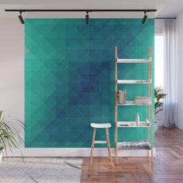 Emerald dreams Wall Mural