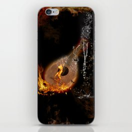 Music, lute iPhone Skin