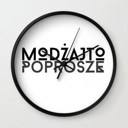 Poprosze Mojito Wall Clock
