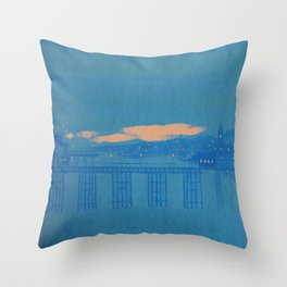 sea coast, vol. 3 Throw Pillow