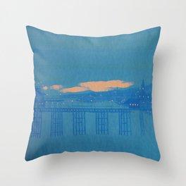 sea coast, vol. 3 Throw Pillow