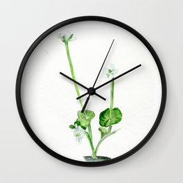 Small Gathering Wall Clock
