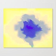 Unfurled Yellow Canvas Print