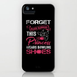 Bowling Skittles Woman Girl iPhone Case