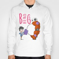 big hero 6 Hoodies featuring 21 - BIG HERO 6 by Jomp