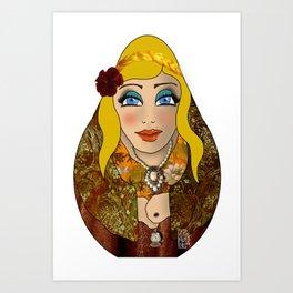 VanMoon Dika Art Print