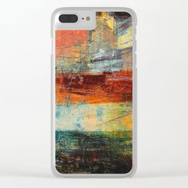 Heat Wave Clear iPhone Case