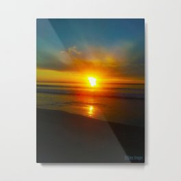 Sunrise over the Bay Metal Print