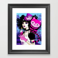 Alice Returns to Wonderland Framed Art Print