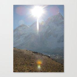Shrouded in the Sun Canvas Print