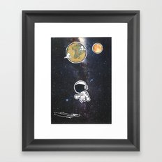 We The Explorers Framed Art Print
