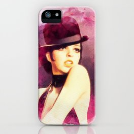 Liza Minnelli, Vintage Actress iPhone Case