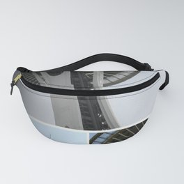 Seattle Space Needle Mosaic Fanny Pack