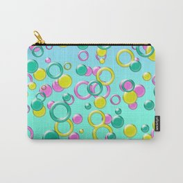 Abstract colorful bubbles 170 Carry-All Pouch