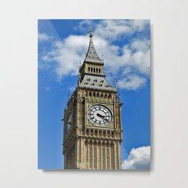 Big Ben Tower Metal Print