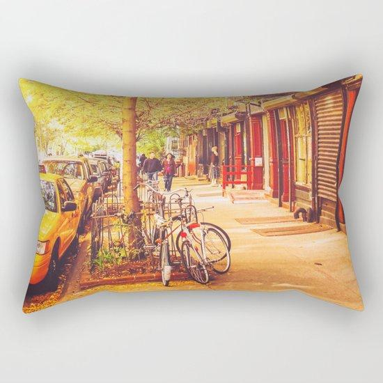 Autumn - East Village - New York City Rectangular Pillow