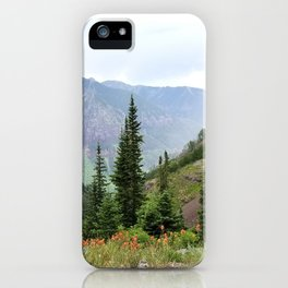Wonders of the Mountainside iPhone Case