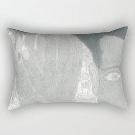 Fluffy Scar Rectangular Pillow