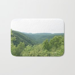 Green Catskills Bath Mat
