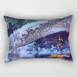 Escaping the Freeze. Rectangular Pillow