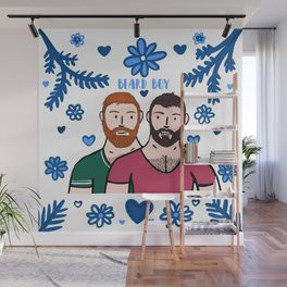 Beard Boy: Couple of Men - Karl & Daan Wall Mural