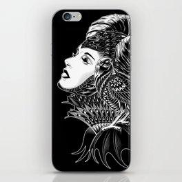 Maleficent Tribute iPhone Skin