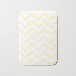 Cornsilk - pink color -  Zigzag Chevron Pattern Bath Mat