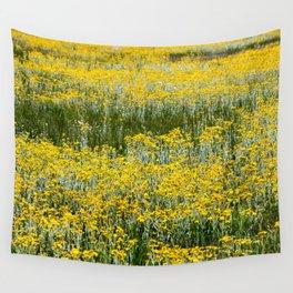 Flowers of Yellow (Mono Lake, California) Wall Tapestry