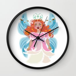 Bee Brigid Wall Clock