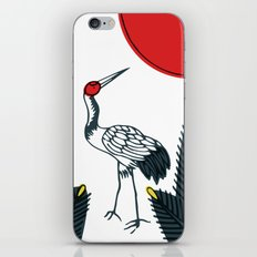 Tsuru iPhone & iPod Skin