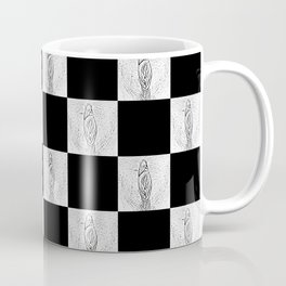 Checkerboard Pussy Coffee Mug