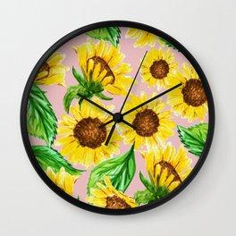 Sunny #society6 #decor #buyart Wall Clock