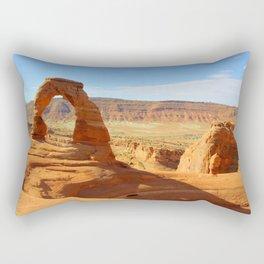 Delicate Arch Utah - Traveling series Rectangular Pillow