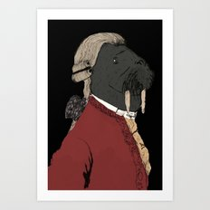 Morzart Art Print