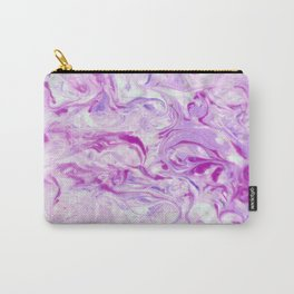 Awesome pink marble texture Carry-All Pouch