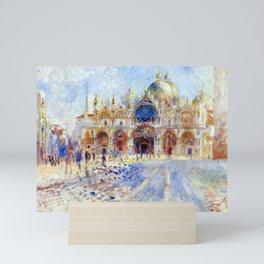 Pierre Auguste Renoir The Piazza San Marco, Venice Mini Art Print