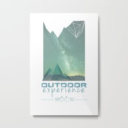 Outdoor Experience Metal Print