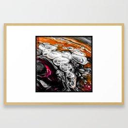 Lava Flow Framed Art Print