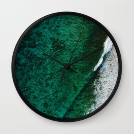 Sea 10 Wall Clock