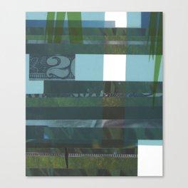 Lawn study 4 Canvas Print