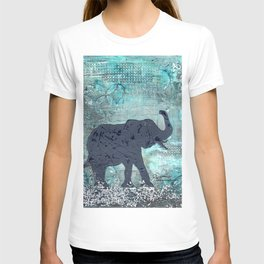 Majestic Series: Turquoise and silver T-shirt