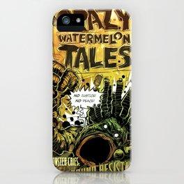 CRAZY WATERMELON TALES: UNDERGROUND iPhone Case