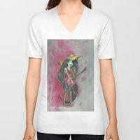 marceline V-neck T-shirts featuring marceline by Dan Solo Galleries